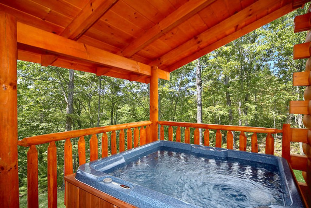 Photo of a Pigeon Forge Cabin named Splish Splash - This is the fourteenth photo in the set.