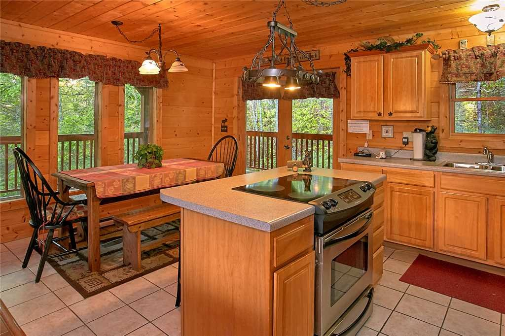 Photo of a Pigeon Forge Cabin named Majestic Hideaway - This is the fourth photo in the set.