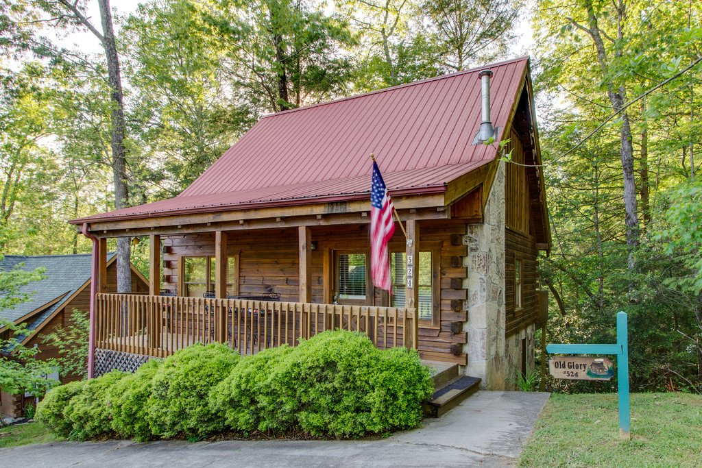 Photo of a Gatlinburg Cabin named Old Glory - This is the seventeenth photo in the set.