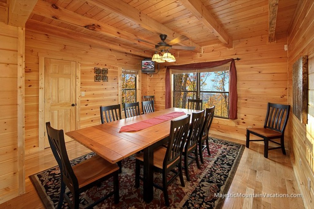 Photo of a Pigeon Forge Cabin named Ridgetop Theatre Lodge At Thunder Mountain - This is the eighth photo in the set.