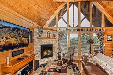 Bear Slide, 4 Bedrooms, Pool Access, Mountain View, Hot Tub, Sleeps 10