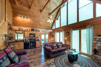 Bear Essentials, 3 Bedrooms, Pool Table, Fireplaces, 70in Tv, Sleeps 8