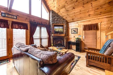 Hatcher Mountain Getaway, 1 Bedroom, Jetted Tub, Wifi, Sauna, Sleeps 4