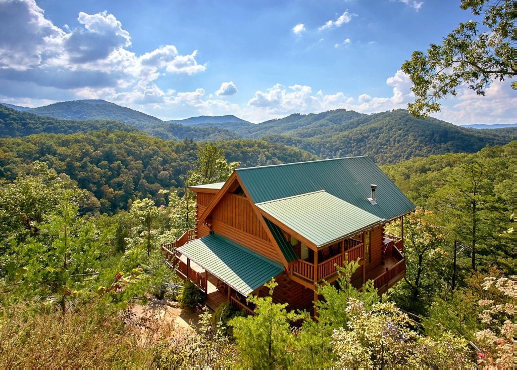 Perfect Peace #46 Cabin In Sevierville W/ 2 BR (Sleeps10