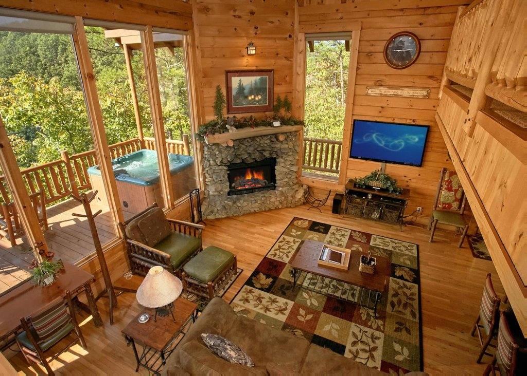 Photo of a Pigeon Forge Cabin named Perfect Peace #46 - This is the sixth photo in the set.