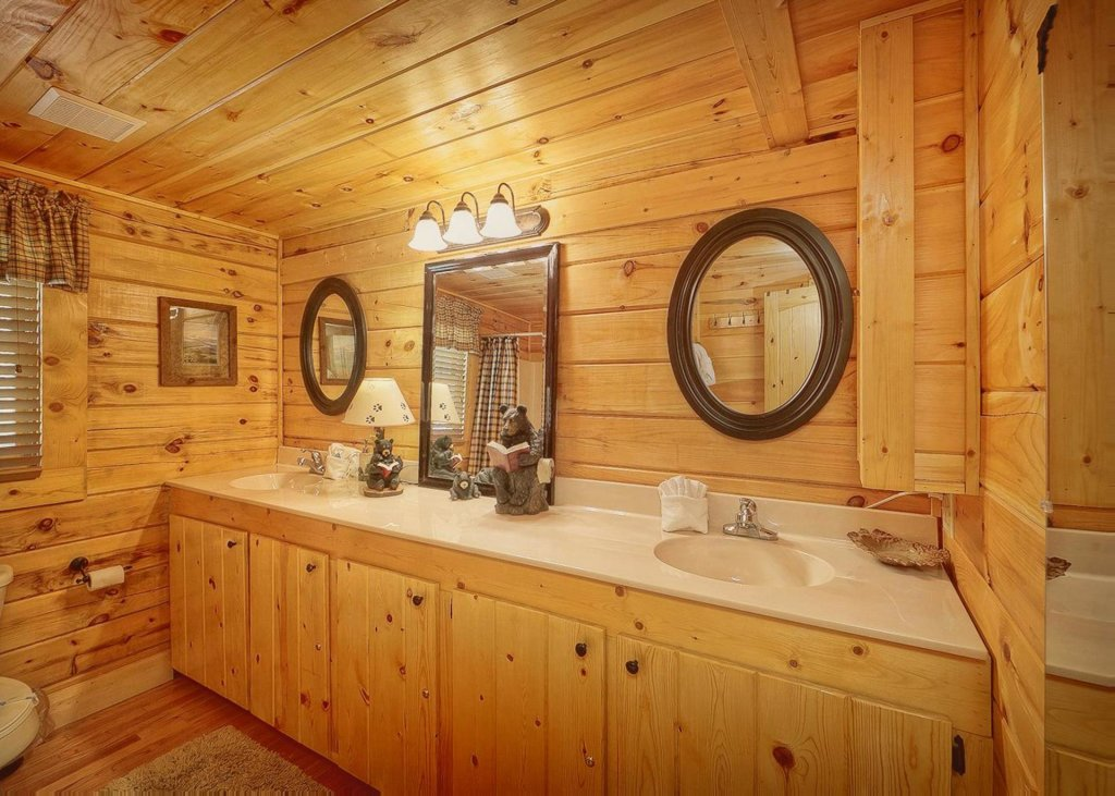 Photo of a Pigeon Forge Cabin named Tranquility #53 - This is the fourteenth photo in the set.