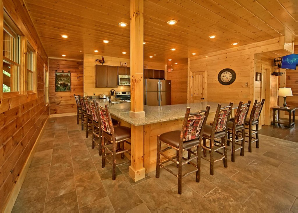 Photo of a Pigeon Forge Cabin named Summit Oasis #76 - This is the third photo in the set.