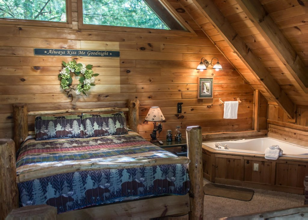 Photo of a Pigeon Forge Cabin named Simply Charming #9 - This is the fourteenth photo in the set.