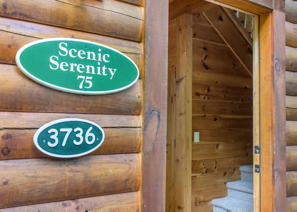 Photo of a Pigeon Forge Cabin named Scenic Serenity #75 - This is the twenty-second photo in the set.