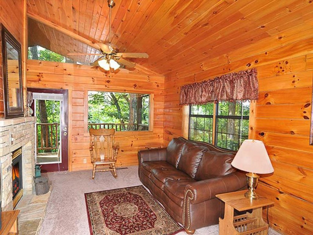 Photo of a Pigeon Forge Chalet named All About Romance - This is the sixth photo in the set.