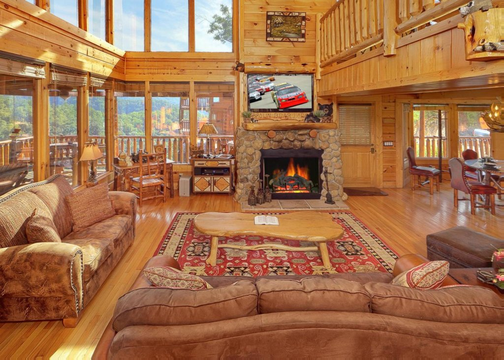 Photo Of A Pigeon Forge Cabin Named Brown Bear Lodge 49