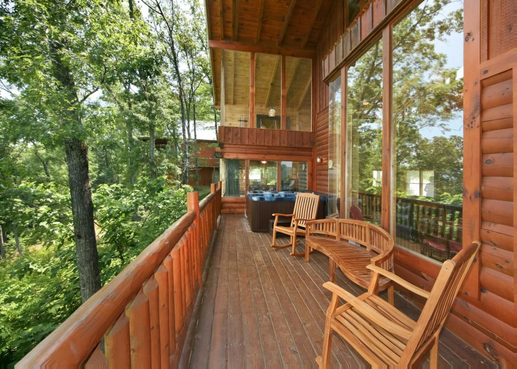 Photo of a Pigeon Forge Cabin named Livin The Dream #44 - This is the seventeenth photo in the set.
