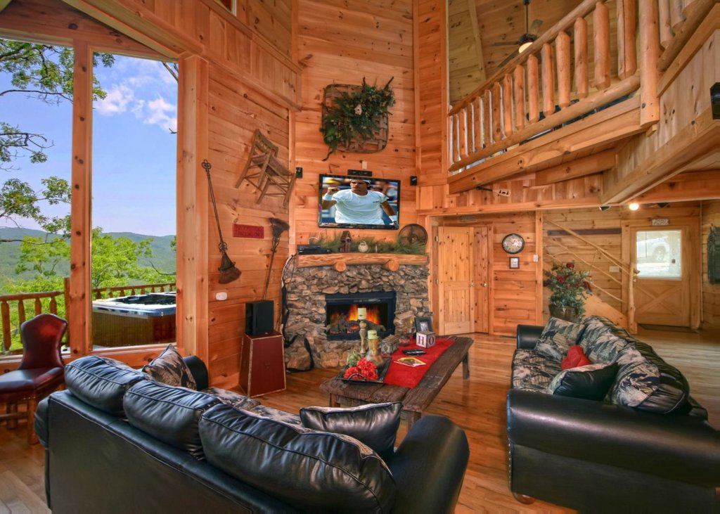 Photo of a Pigeon Forge Cabin named Livin The Dream #44 - This is the third photo in the set.