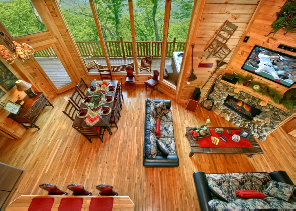 Photo of a Pigeon Forge Cabin named Livin The Dream #44 - This is the fourth photo in the set.