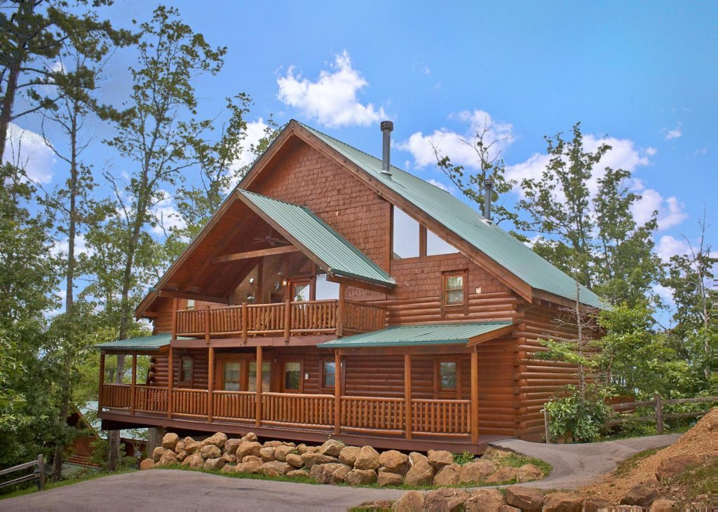 Photo of a Pigeon Forge Cabin named Majestic View A #42a - This is the first photo in the set.