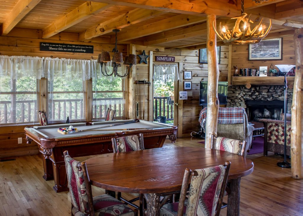 Photo of a Pigeon Forge Cabin named Fox Ridge #37 - This is the fifth photo in the set.