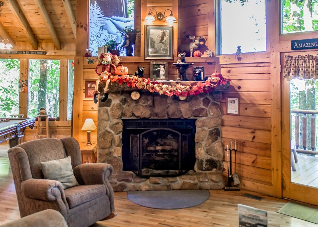 Photo of a Pigeon Forge Cabin named Amazing Grace #25 - This is the sixth photo in the set.