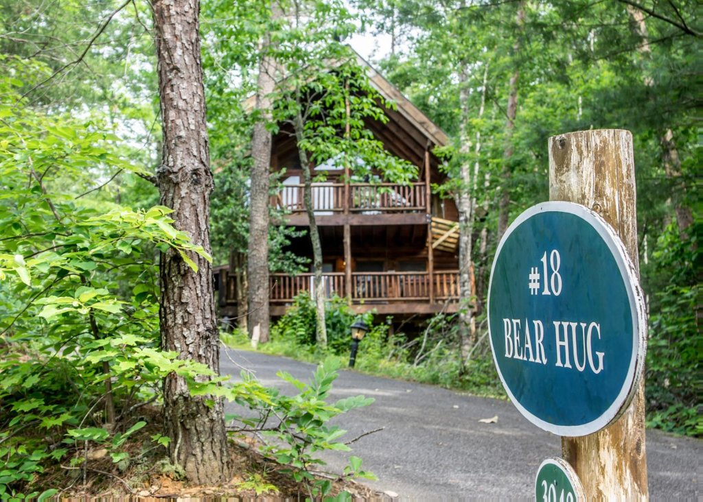Photo of a Pigeon Forge Cabin named Bear Hug #18 - This is the twenty-second photo in the set.
