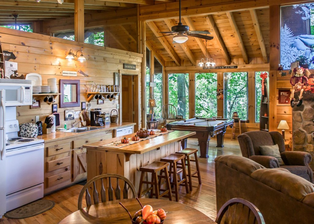 Photo of a Pigeon Forge Cabin named Amazing Grace #25 - This is the fourth photo in the set.