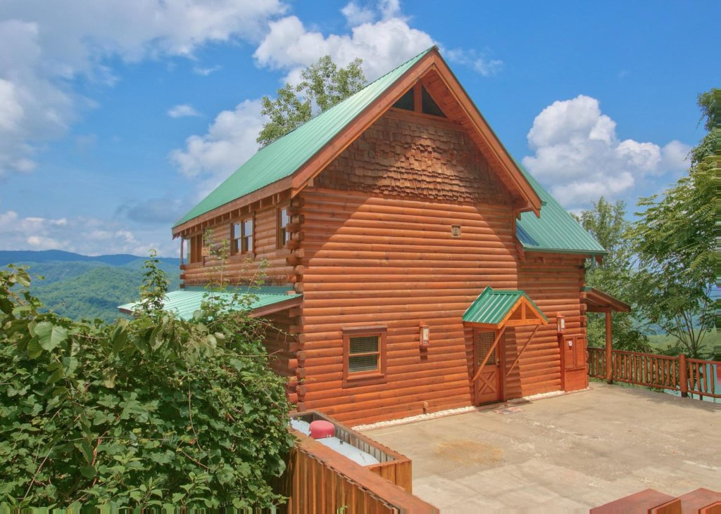 Photo of a Pigeon Forge Cabin named Lovers Loft #62 - This is the first photo in the set.
