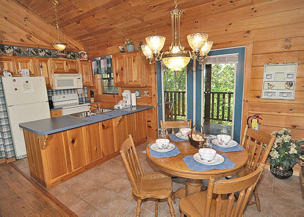 Photo of a Pigeon Forge Chalet named A Hen House - This is the third photo in the set.