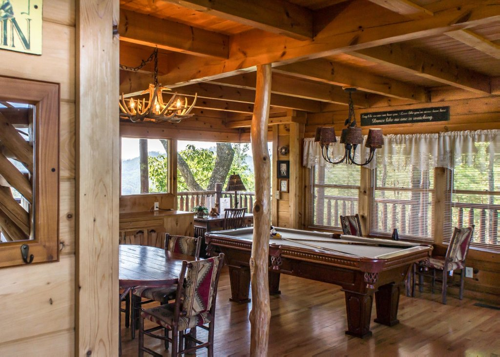 Photo of a Pigeon Forge Cabin named Fox Ridge #37 - This is the eighth photo in the set.