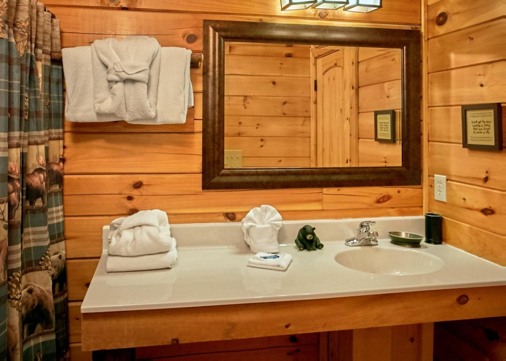 Photo of a Pigeon Forge Cabin named Lovers Loft #62 - This is the ninth photo in the set.