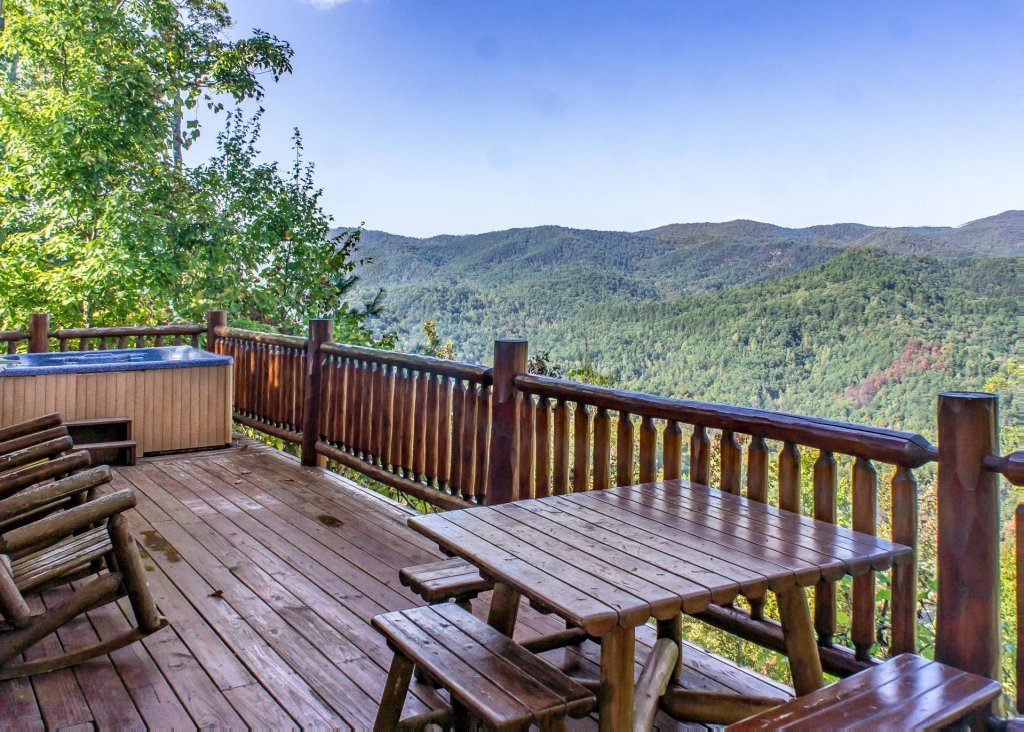 Fox ridge 37 cabin in sevierville w 2 br sleeps6 for Smoky mountain ridge cabins