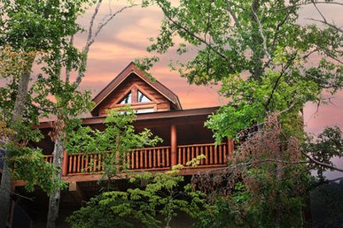 Rustic Cabin With Majestic Mtn. Views, Deck, Game Room, Jacuzzi, Amenities