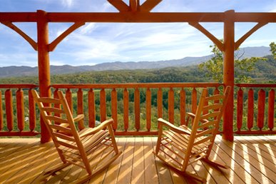 Beautiful Mountain Views - Luxury 1 Bedroom Cabin sleeps 4 (2 baths)