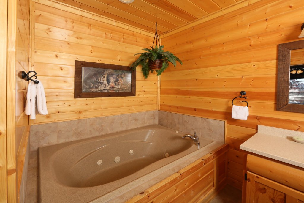 Photo of a Pigeon Forge Cabin named Howling Wolf - This is the sixteenth photo in the set.