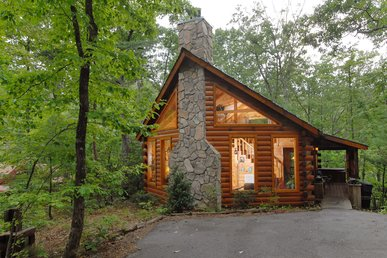 Romantic Private 1bedroom cabin,in Sky Harbor Resort 6miles to Gatlinburg TN