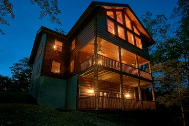 Luxury 6 Bedroom Cabin With Theater Room, Game Room U0026 Amazing Views Sleeps  16