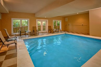 Enjoy a Private Indoor Pool and Home Theater Room - Sleeps 10!