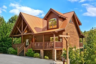 Pigeon Forge Log Cabin Rental, Close to Parkway with Hot Tub and Jacuzzi