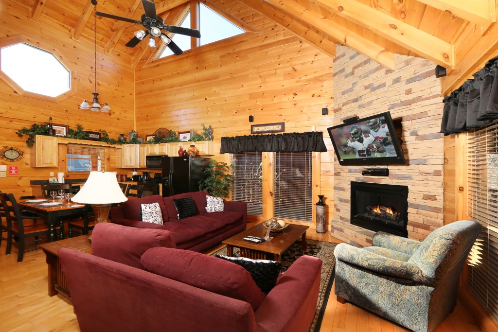 Photo of a Pigeon Forge Cabin named Any Way You Want It - This is the seventh photo in the set.