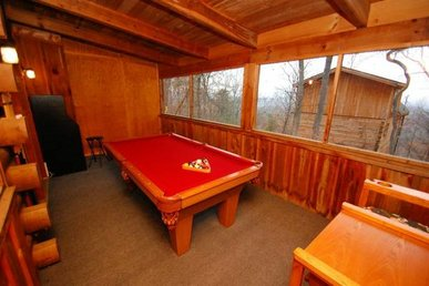 2 Bedroom Cabin Located Between Pigeon Forge And Gatlinburg
