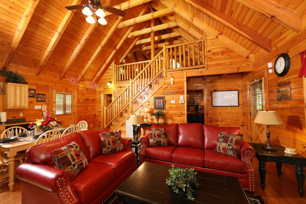 Photo of a Pigeon Forge Cabin named Around The Mountain - This is the ninth photo in the set.