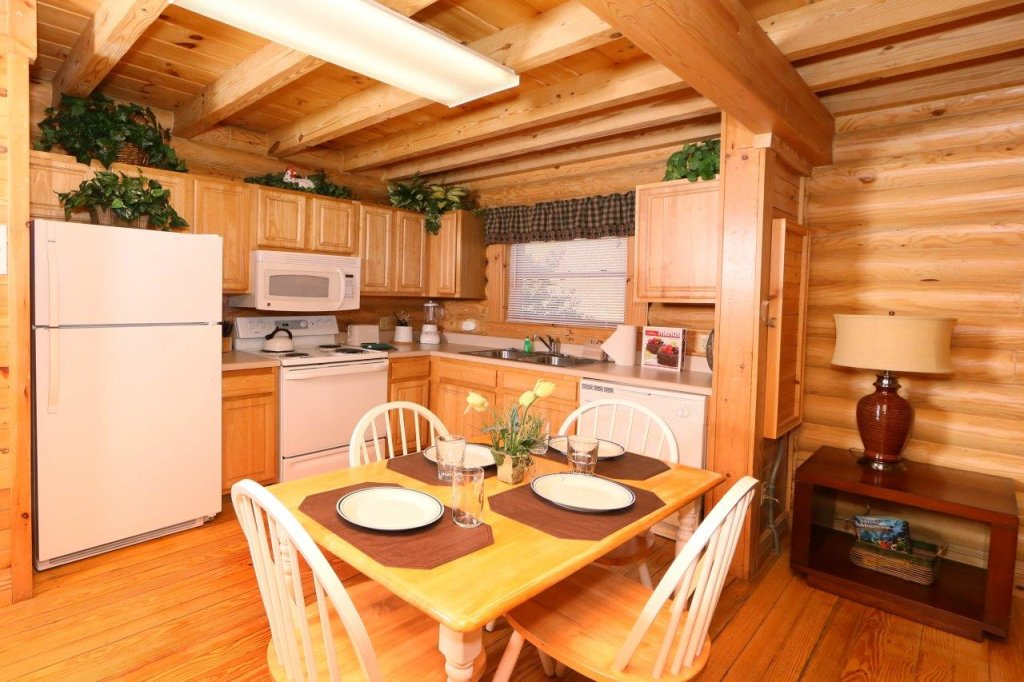 Photo of a Pigeon Forge Cabin named A Great Smoky Hideaway - This is the sixth photo in the set.