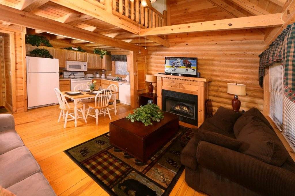 Photo of a Pigeon Forge Cabin named A Great Smoky Hideaway - This is the fourth photo in the set.