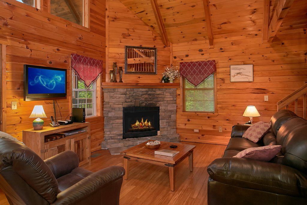 Photo of a Gatlinburg Cabin named Mountain Glory - This is the seventh photo in the set.