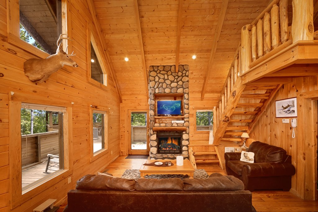 Photo of a Gatlinburg Cabin named Buckhaven - This is the ninth photo in the set.