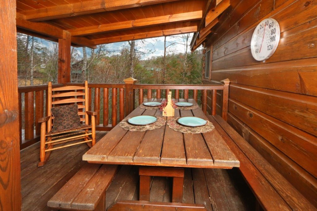 ... Photo Of A Pigeon Forge Cabin Named Smoky Mountain Getaway   This Is  The Fifth Photo ...