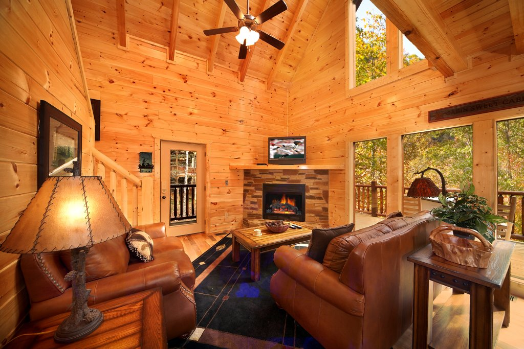 Photo of a Gatlinburg Cabin named Tucked Inn - This is the third photo in the set.