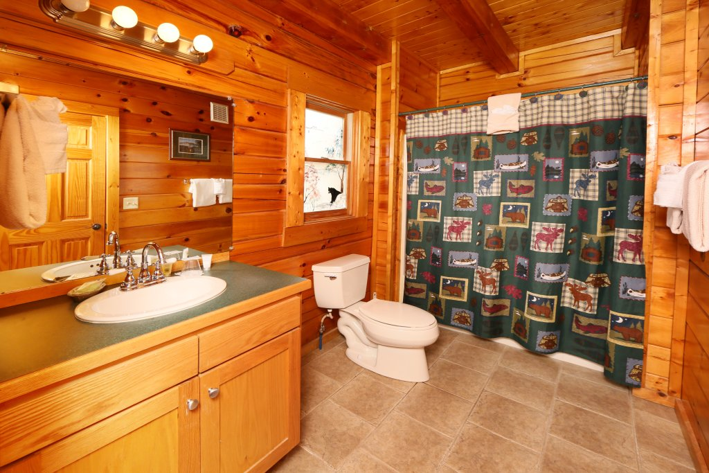 Photo of a Pigeon Forge Cabin named Snow Bear - This is the sixteenth photo in the set.