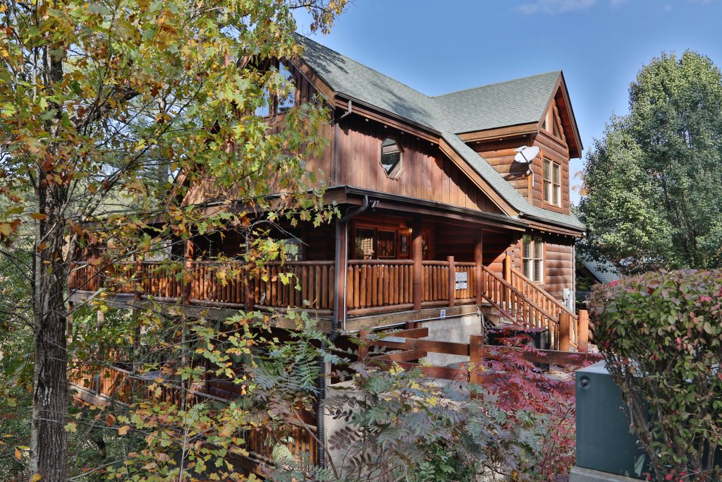 Photo of a Pigeon Forge Cabin named Blessed Nest - This is the nineteenth photo in the set.