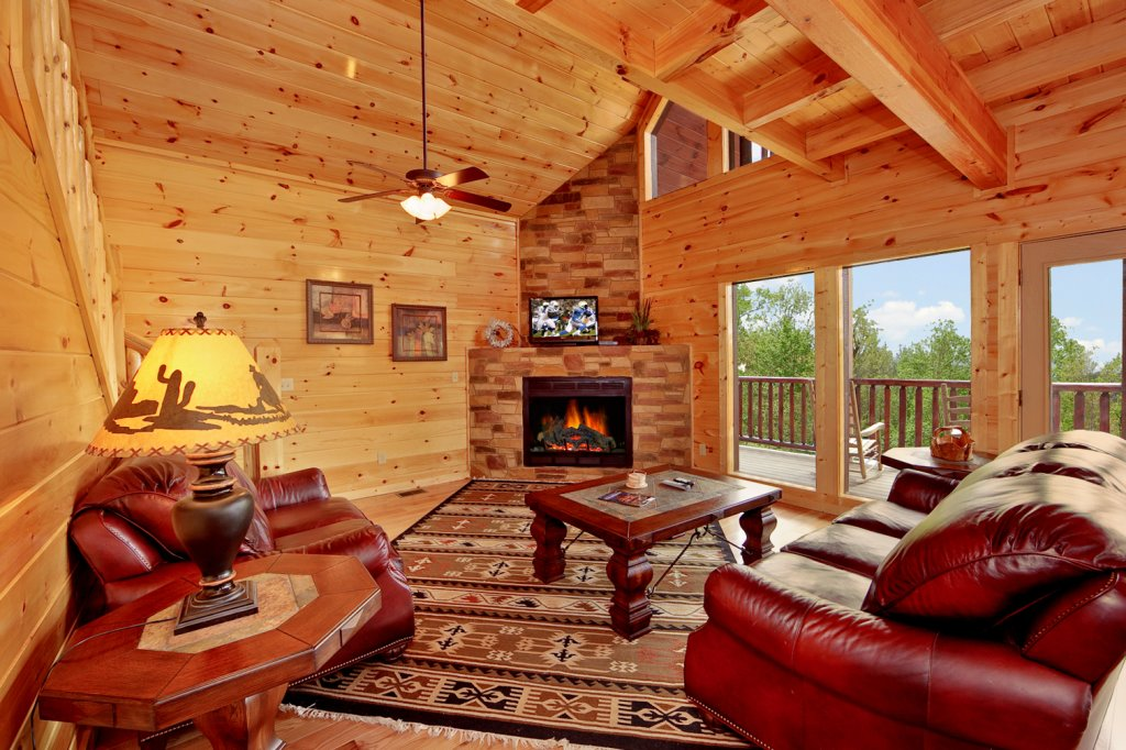 Photo of a Gatlinburg Cabin named Summit Sanctuary - This is the sixth photo in the set.