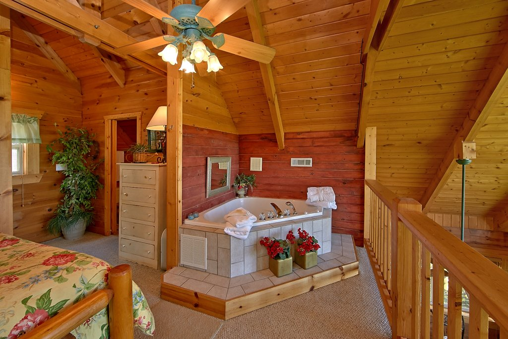 Photo of a Gatlinburg Cabin named American Dream #142 - This is the fifth photo in the set.