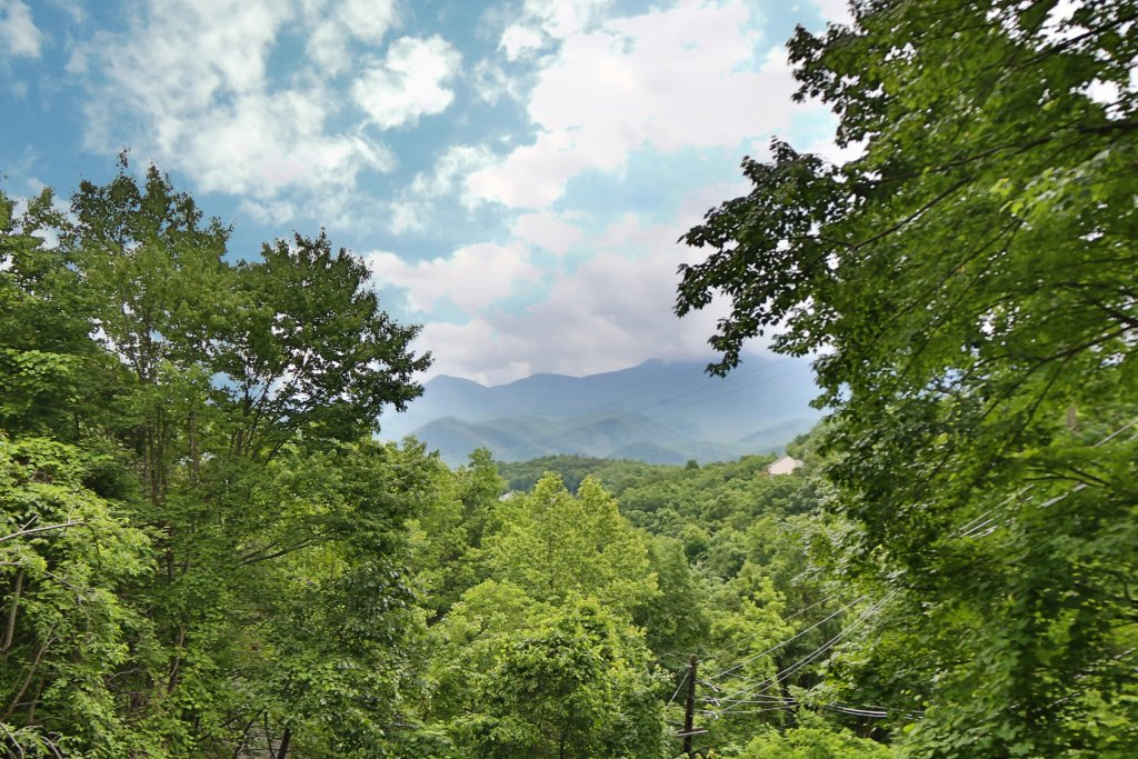 Photo of a Gatlinburg Cabin named Million Dollar View - This is the third photo in the set.
