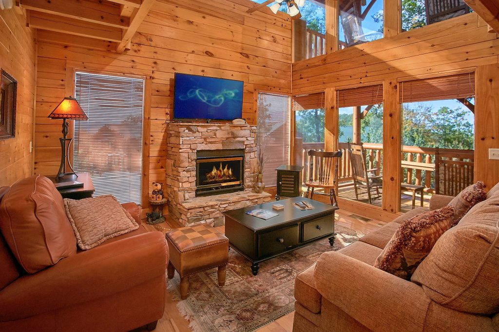 Photo of a Pigeon Forge Cabin named Sweet Retreat - This is the seventh photo in the set.
